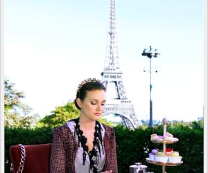 paris, gossip girl, and blair waldorf image