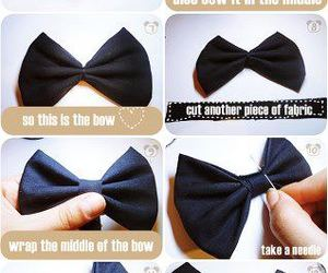 diy, tutorial, and bow image