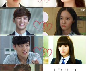 the heirs, lee bo na, and kim tan image