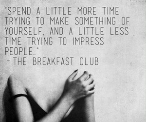 quote and The Breakfast Club image