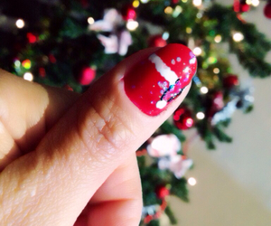 nails art, christmas nails, and christmasnails image