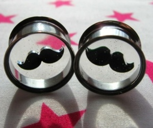 accessories, mustache, and adorable image