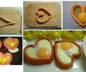 food, diy, and heart image