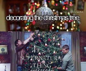 christmas, dean, and xmas image