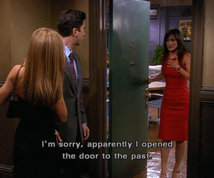 friends, monica, and funny image