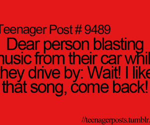 music, car, and funny image