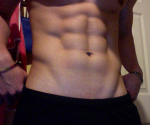 abs, boys, and muscle image