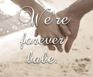 forever, hands, and love image