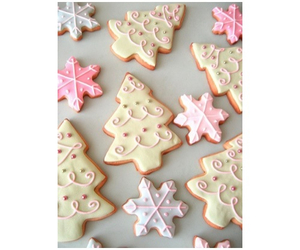 Cookies and christmas image