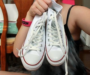 converse, high tops, and hipster image