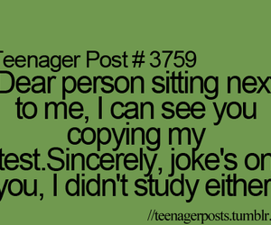 funny, copy, and study image