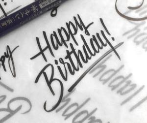 birthday, happy birthday, and text image