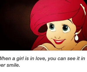 love, ariel, and smile image