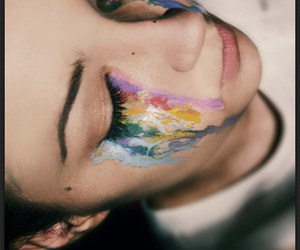 art, color, and tears image