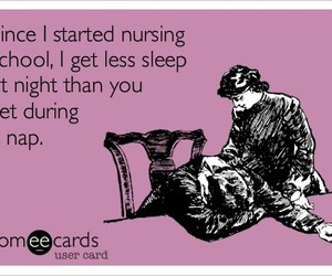 nurse, nursing, and someecards image