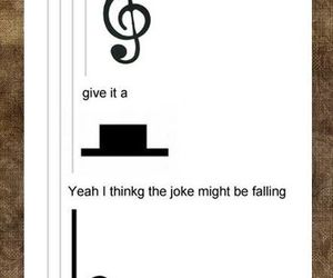 music, funny, and puns image