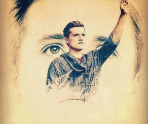 the hunger games, die tribute von panem, and josh hutcherson ♥ image