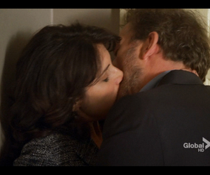 kiss, cuddy and house, and love image