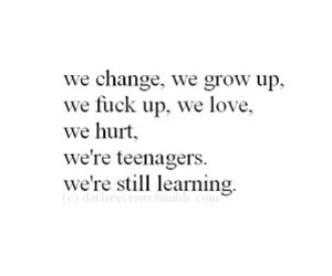 quote, teenagers, and text image