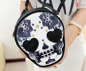 bag, fashion, and print image