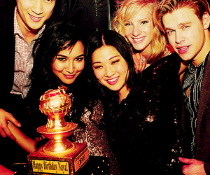 glee, jenna ushkowitz, and naya rivera image