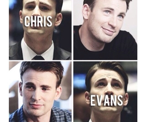 captain america, chris evans, and handsome image