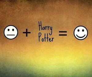 harry potter and happy image