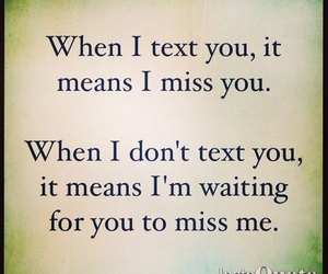 miss you, love, and quotes image