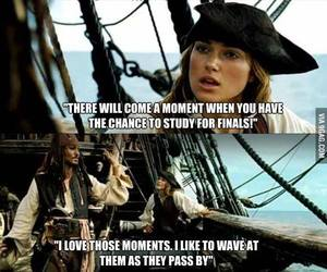 funny, finals, and quotes image