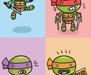 cute and turtle image