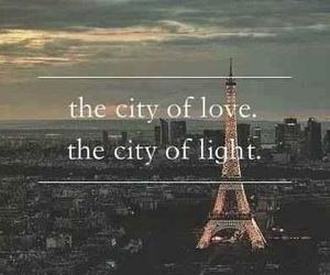 paris, love, and light image