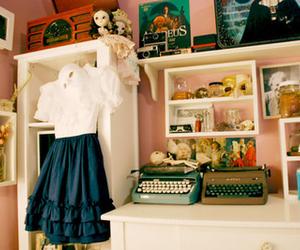 room, dress, and vintage image