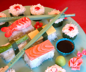 whipped bakeshop, best of philly 2010, and sushi cake image