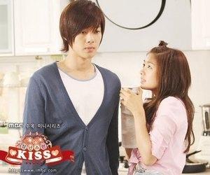 kim hyun joong and playful kiss image