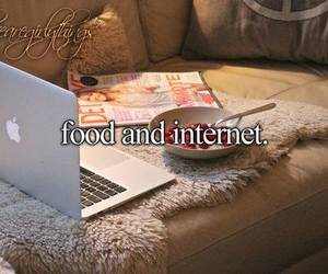 food, internet, and just girly things image