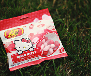 hello kitty and jelly belly image