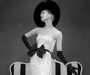 vintage, fashion, and black and white image