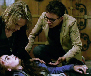 jace, simon, and the mortal instruments image