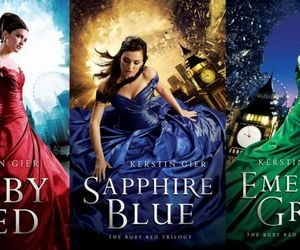 ruby red, sapphire blue, and emerald green image