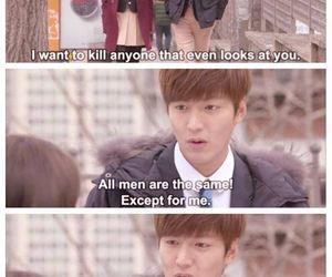 lee min ho, kim tan, and park shin hye image