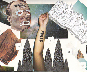 foals, art, and Collage image