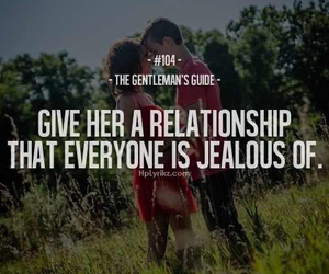 Relationship and jealous image