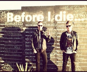 before i die, papa roach, and jacoby shaddix image