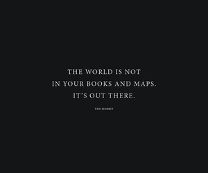 quotes, book, and the hobbit image