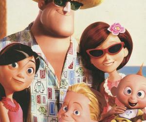 disney, The Incredibles, and family image