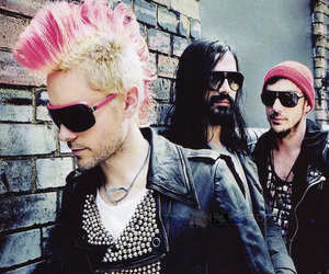 30 seconds to mars, emo, and haircut image