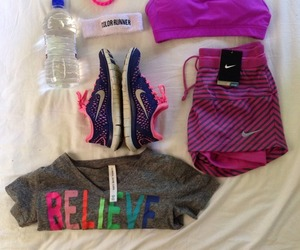 fit, sport, and work out image