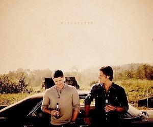 supernatural, winchester, and Jensen Ackles image