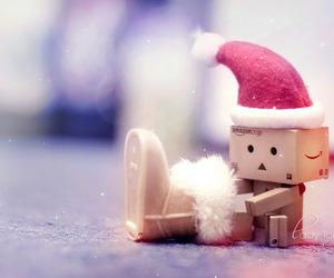 christmas, danbo, and winter image