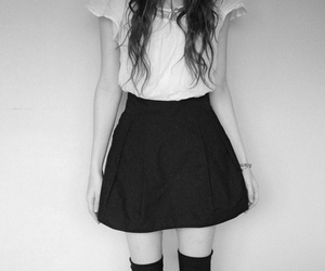 dress, indie, and girl image